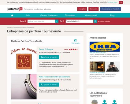 Entreprises de peinture Tournefeuille -...
