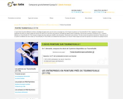 Peintre Tournefeuille - 5 devis Peintre...