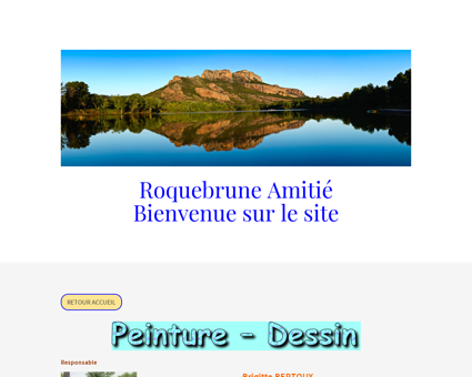 Dessin - Peinture - roquebrune-amities jimdo...