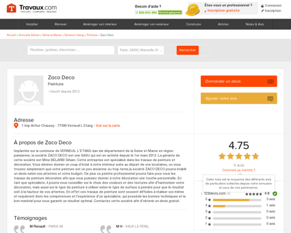 Zaco Deco - Peinture à VERNEUIL L ETANG |...