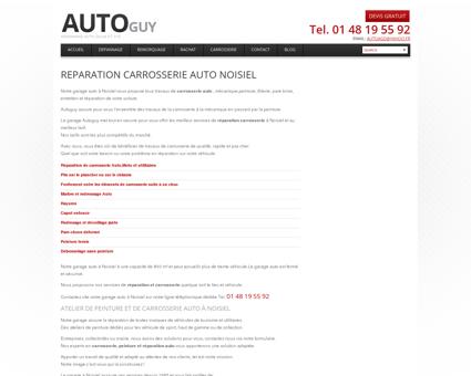 Garage carrosserie Voiture à Noisiel | Atelier ...
