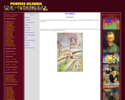 Notre dame - Henri Matisse - Tableaux et dessins