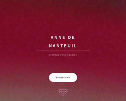 Anne de Nanteuil - Peinture décorative