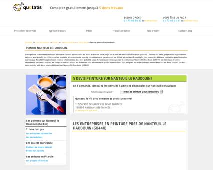 Peintre Nanteuil le Haudouin - 5 devis gratuits