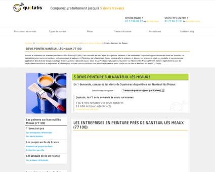 Travaux de peinture Nanteuil lès Meaux, 5...