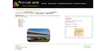Peinture-aero.fr / Accueil