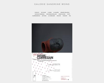 Galerie Sandrine Mons