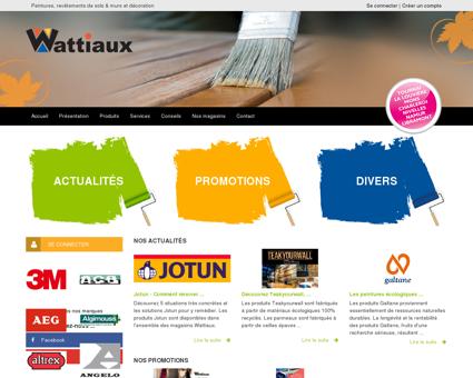 Wattiaux - Accueil