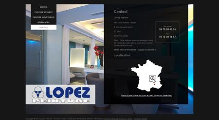 Comment contacter Lopez Peinture à...