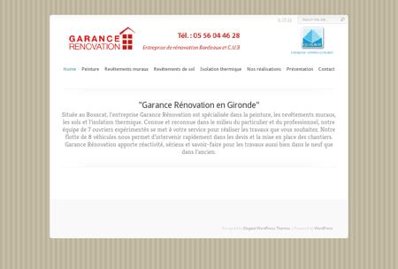 GARANCE RENOVATION |