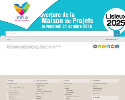 Ecole d'Arts plastiques - Lisieux