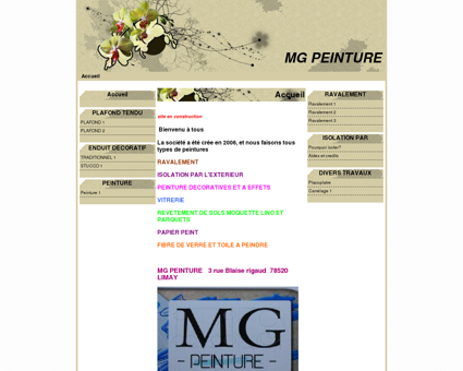MG PEINTURE