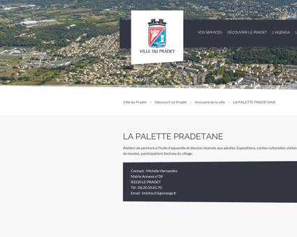La Palette Pradétane - Ville du Pradet