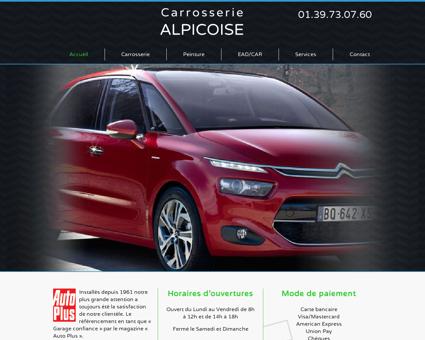 Carrosserie ALPICOISE - Garage automobiles,...