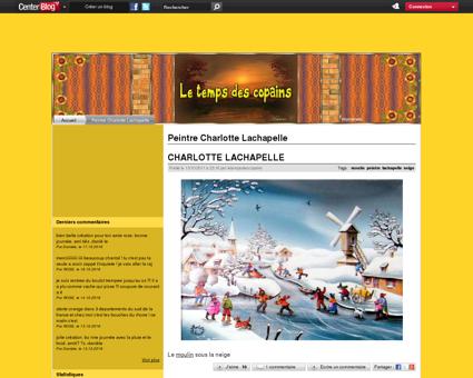 peintre lachapelle - LE TEMPS DES COPAINS