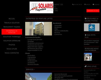 Peinture (entreprises) Lattes - Solares