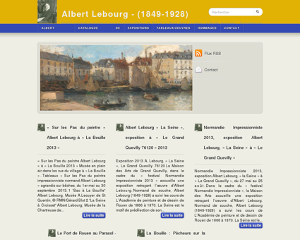 Albert Lebourg - (1849-1928) - Peintre...