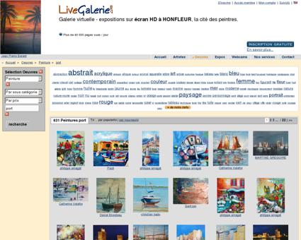 Peinture port sur LiveGalerie - Galerie d'art...