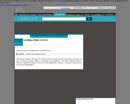 Encyclopédie Larousse en ligne - Le Mas-d'Azil