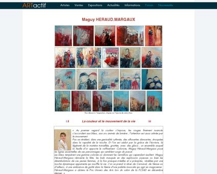 Exposition HERAUD.MARGAUX - Peintre -...