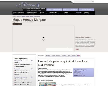 Maguy Héraud Margaux une artiste peintre à...