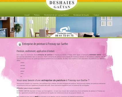 Entreprise de peinture à Fresnay-sur-Sarthe |...