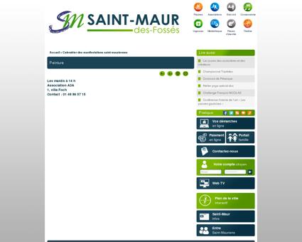 Site officiel de la ville de Saint-Maur-des...