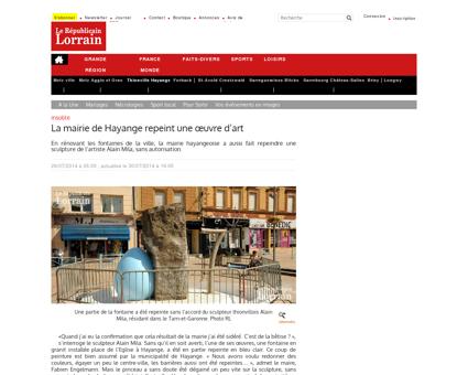 Hayange | La mairie de Hayange repeint une...