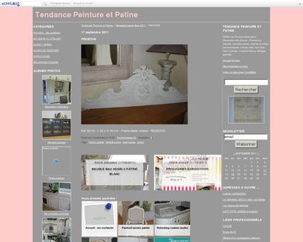 FRONTON - Tendance Peinture et Patine