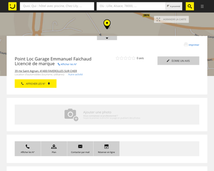 Renault Garage Emmanuel Faichaud Faverolles...