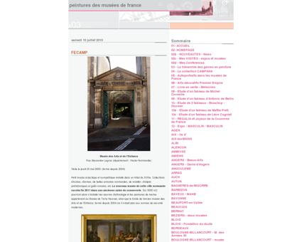Peintures des Musées de France: FECAMP