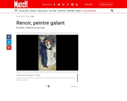 Renoir, peintre galant - News Paris Match,...
