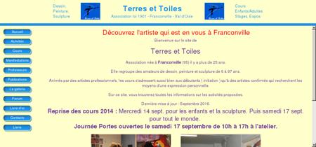 Bienvenue à Terres et Toiles - Franconville