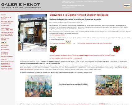 Galerie d'Art Henot d'Enghien-les-Bains...