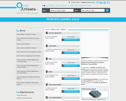 Peintre Harnes 62440