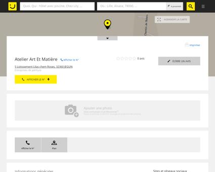 Atelier Art Et Matière Jegun (adresse) -...