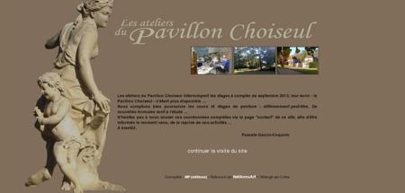Pavillon Choiseul, cours et stages de peinture...