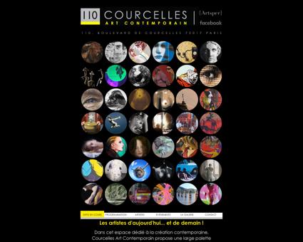 GALERIE COURCELLES ART CONTEMPORAIN