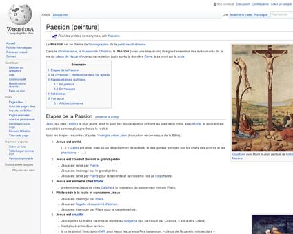 Passion (peinture)  Wikipédia