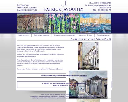 Galerie de peinture Patrick Javouhey à Beaune 21