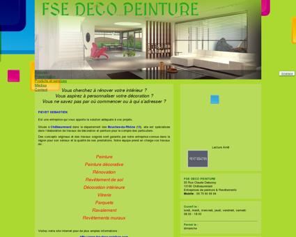 FSE DECO PEINTURE - Entreprises de peinture...