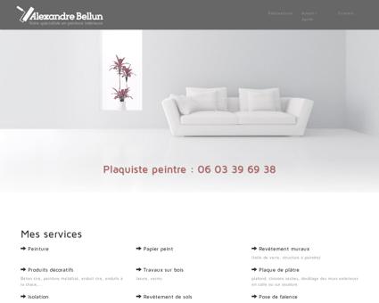Alexandre Bellun - Plaquiste artisan peintre -...