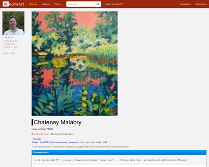 Peinture Chatenay Malabry - Galerie d'art...