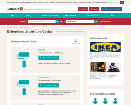 Entreprises de peinture Cestas - Guide des...
