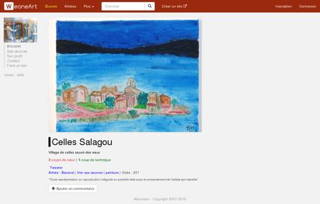 Peinture Celles Salagou