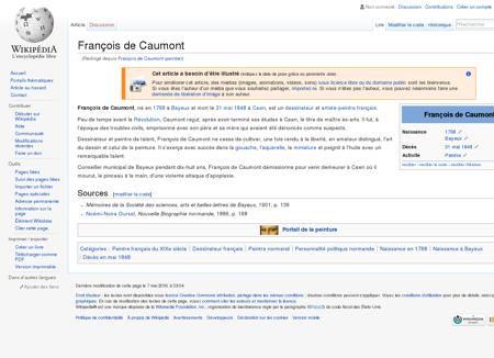 François de Caumont  Wikipédia
