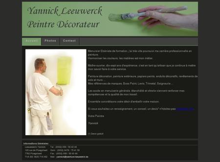 Artisan Peintre Décorateur Yannick Leeuwerck à...