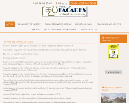 Couleur Façade Maison | ads-facades-herault.fr