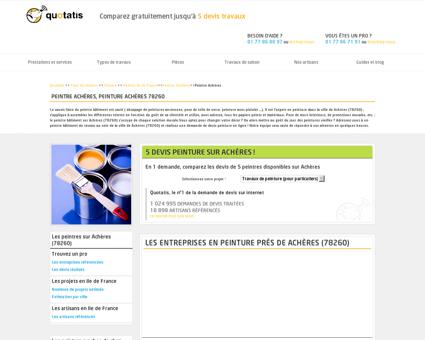Peintre Achères, Peinture Achères 78260