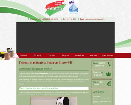 Peinture et plâtrerie à Bourg-en-Bresse (01)